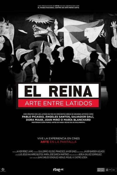 Caratula, cartel, poster o portada de El Reina, arte entre latidos