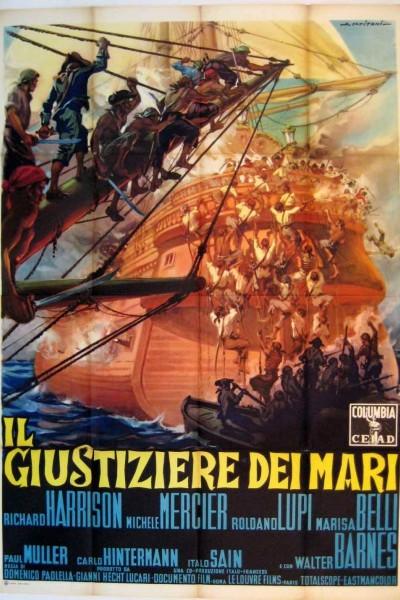 Caratula, cartel, poster o portada de La isla de la ambición (Los justicieros del mar)