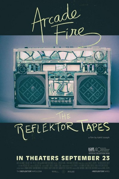 Caratula, cartel, poster o portada de Arcade Fire. The Reflektor Tapes