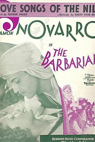 Caratula, cartel, poster o portada de Una noche en El Cairo (El árabe)