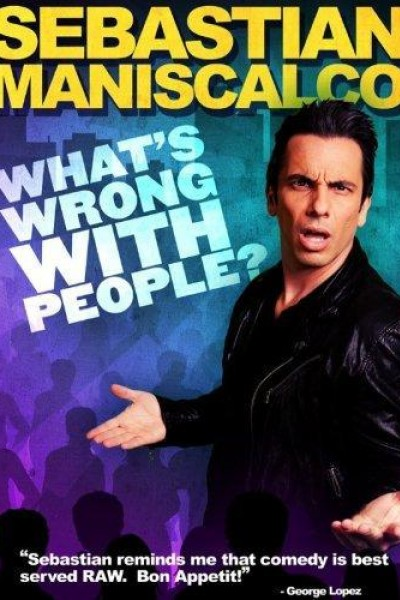 Caratula, cartel, poster o portada de Sebastian Maniscalco: What\'s Wrong with People?