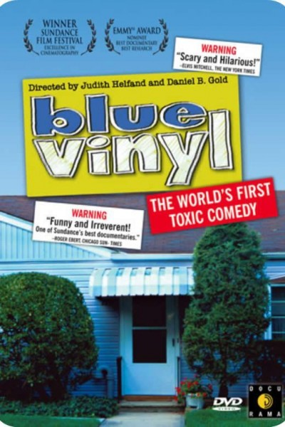 Caratula, cartel, poster o portada de Blue Vinyl