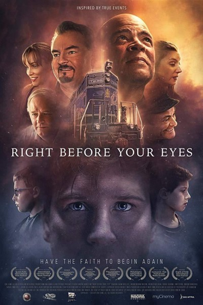 Caratula, cartel, poster o portada de Right Before Your Eyes