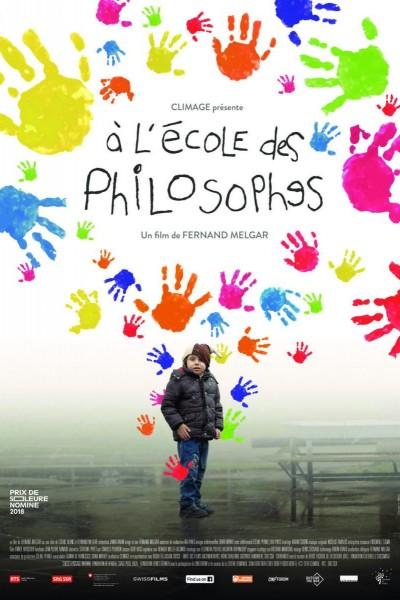 Caratula, cartel, poster o portada de À l\'école des philosophes