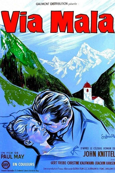Caratula, cartel, poster o portada de Via Mala