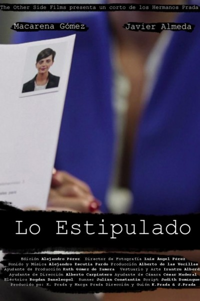 Caratula, cartel, poster o portada de Lo estipulado