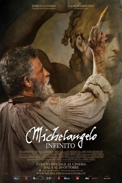Caratula, cartel, poster o portada de Michelangelo infinito