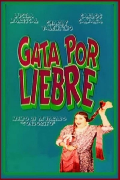 Caratula, cartel, poster o portada de Gata por liebre