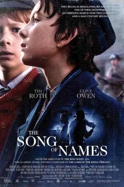 Caratula, cartel, poster o portada de La canción de los nombres olvidados