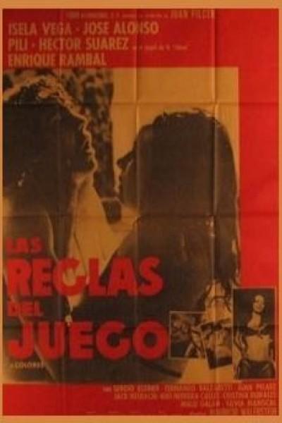 Caratula, cartel, poster o portada de Las reglas del juego