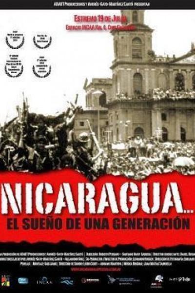 Caratula, cartel, poster o portada de Nicaragua... el sueño de una generación