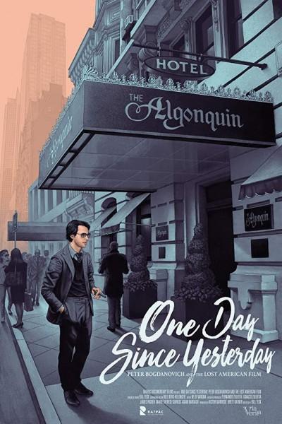 Caratula, cartel, poster o portada de One Day Since Yesterday: Peter Bogdanovich & the Lost American Film