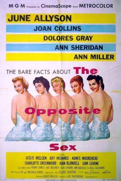 Caratula, cartel, poster o portada de El sexo opuesto