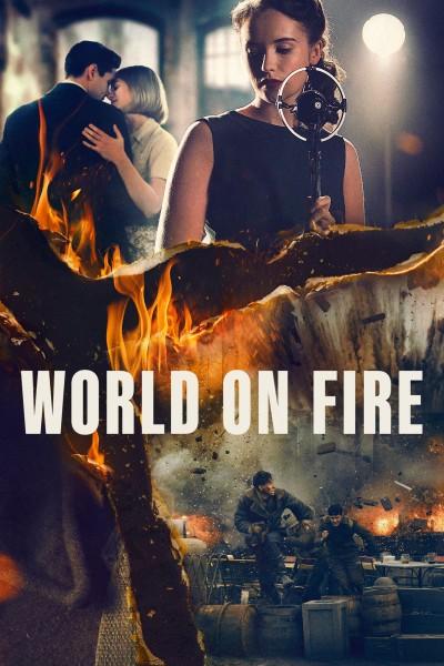 Caratula, cartel, poster o portada de El mundo en llamas