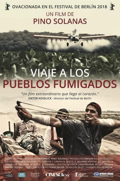 Caratula, cartel, poster o portada de Viaje a los pueblos fumigados