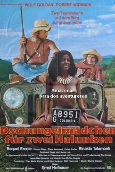 Caratula, cartel, poster o portada de Amazonas para dos aventureros