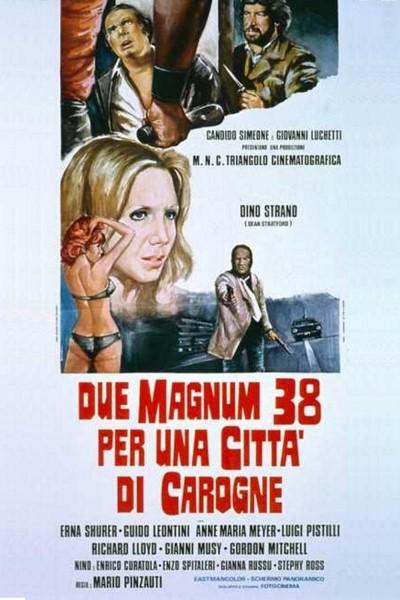 Caratula, cartel, poster o portada de Due Magnum 38 per una città di carogne