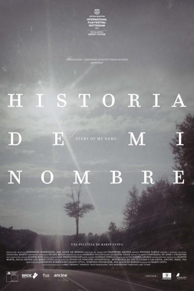 Caratula, cartel, poster o portada de Historia de mi nombre