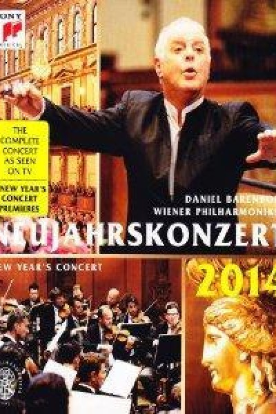 Caratula, cartel, poster o portada de Desde Viena: Concierto de Año Nuevo 2014