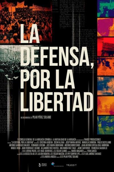 Caratula, cartel, poster o portada de La defensa, por la libertad