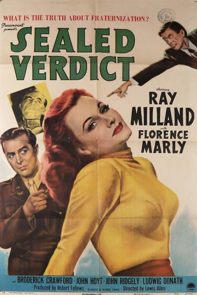 Caratula, cartel, poster o portada de Sealed Verdict