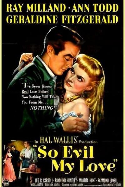 Caratula, cartel, poster o portada de So Evil My Love