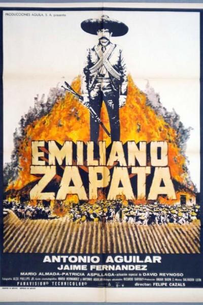 Caratula, cartel, poster o portada de Emiliano Zapata