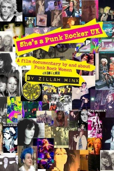 Caratula, cartel, poster o portada de She\'s A Punk Rocker UK