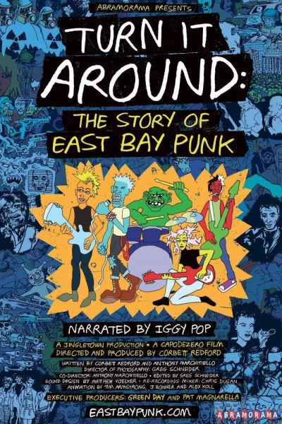 Caratula, cartel, poster o portada de Turn It Around: The Story of East Bay Punk