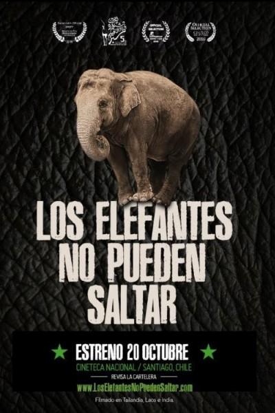 Caratula, cartel, poster o portada de Los elefantes no pueden saltar