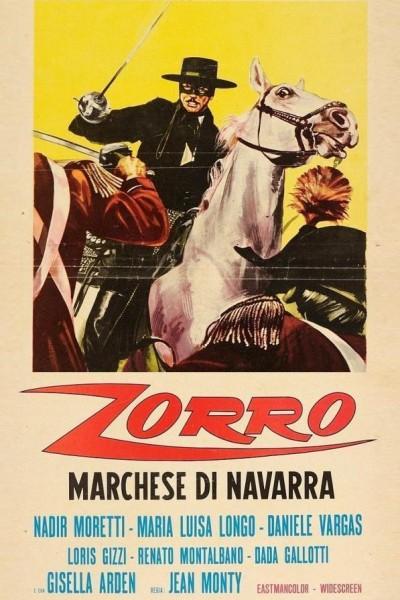 Caratula, cartel, poster o portada de El Zorro contra el imperio de Napoleón