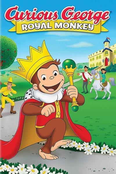 Caratula, cartel, poster o portada de Curious George: Royal Monkey