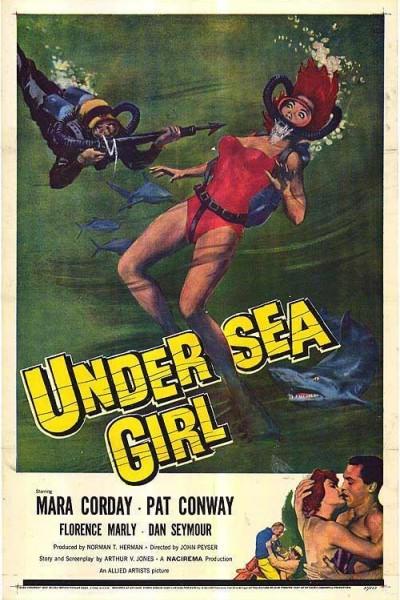 Caratula, cartel, poster o portada de Undersea Girl