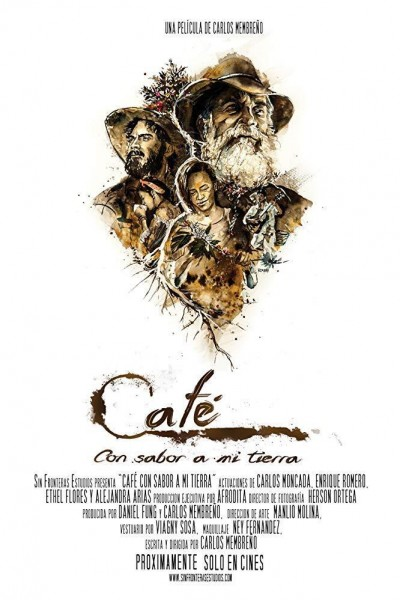 Caratula, cartel, poster o portada de Café con sabor a mi tierra