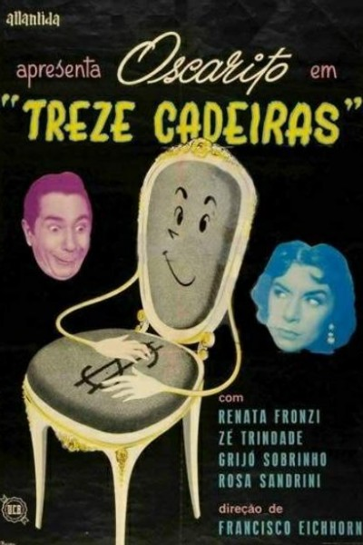 Caratula, cartel, poster o portada de Trece sillas