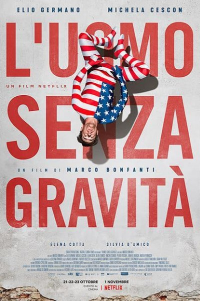 Caratula, cartel, poster o portada de El hombre sin gravedad