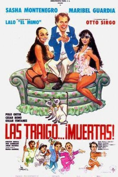 Caratula, cartel, poster o portada de Las traigo muertas