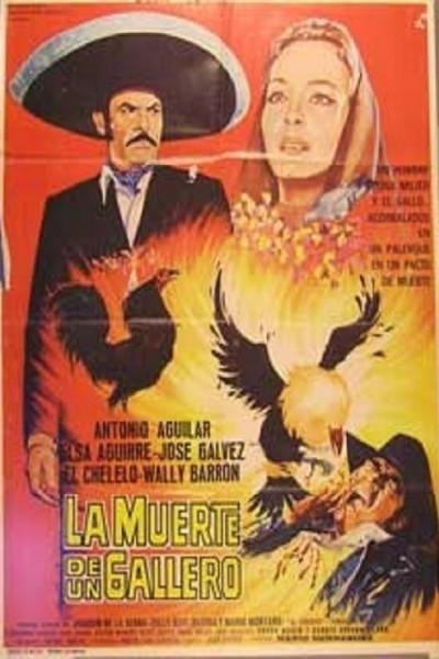 Caratula, cartel, poster o portada de La muerte de un gallero