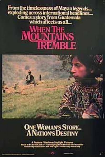Caratula, cartel, poster o portada de When the Mountains Tremble
