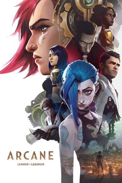 Caratula, cartel, poster o portada de League Of Legends: Arcane