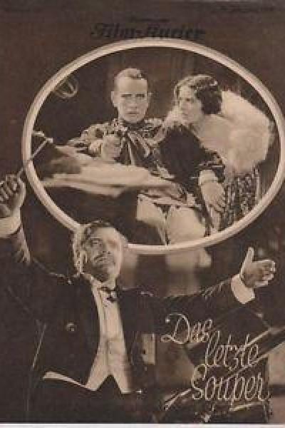 Caratula, cartel, poster o portada de Das letzte Souper
