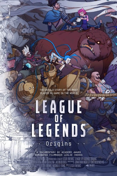 Caratula, cartel, poster o portada de League of Legends: Origins