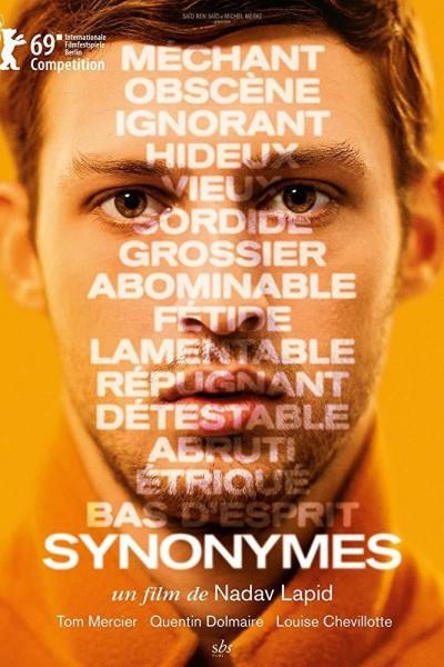 Caratula, cartel, poster o portada de Sinónimos