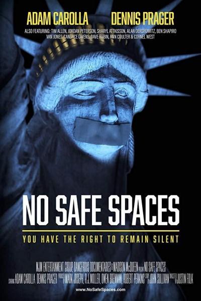 Caratula, cartel, poster o portada de No Safe Spaces