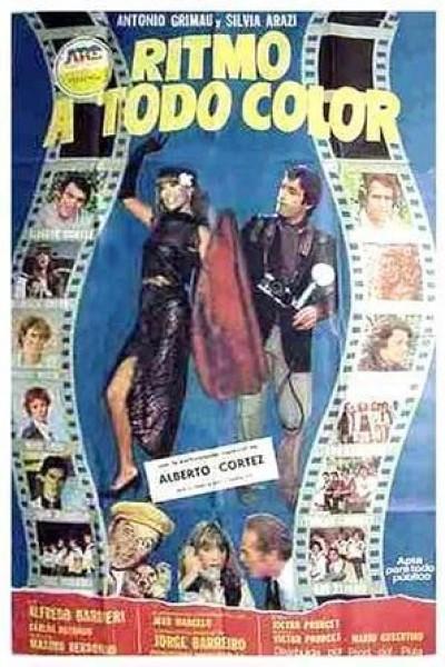 Caratula, cartel, poster o portada de Ritmo a todo color