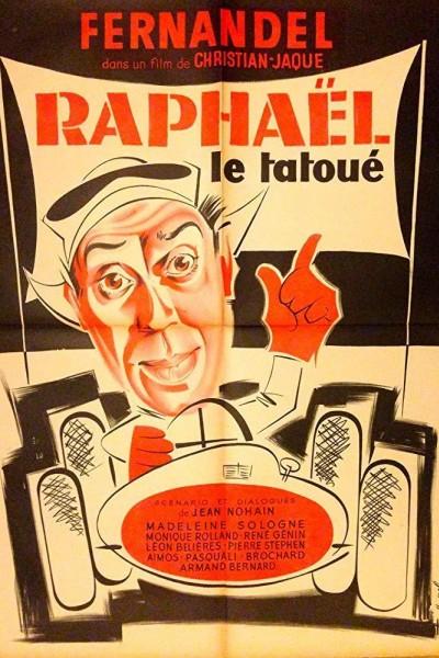 Caratula, cartel, poster o portada de Raphaël le tatoué