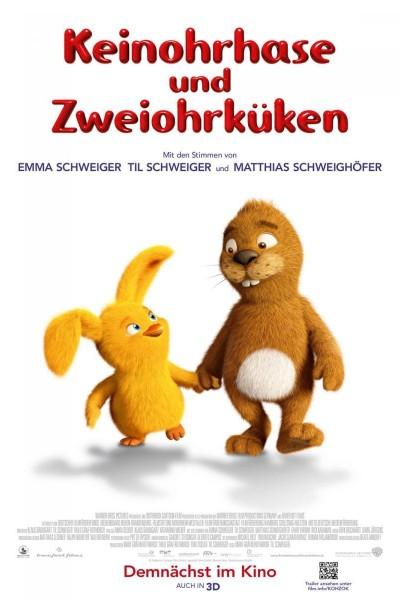 Caratula, cartel, poster o portada de Keinohrhase und Zweiohrküken