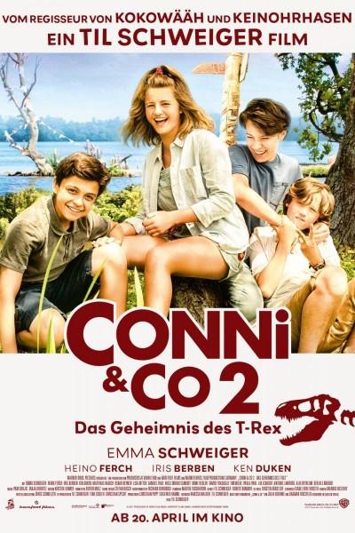 Caratula, cartel, poster o portada de Conni und Co 2 - Das Geheimnis des T-Rex