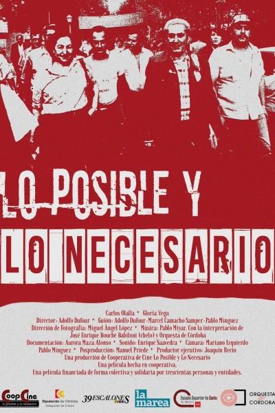 Caratula, cartel, poster o portada de Lo posible y lo necesario