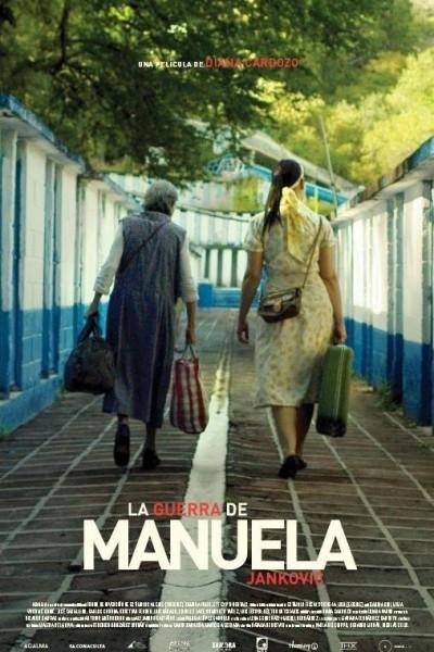 Caratula, cartel, poster o portada de La guerra de Manuela Jankovic
